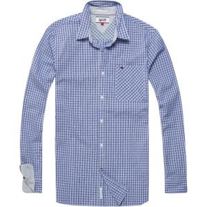 Chemise à carreaux en coton stretch HILFIGER DENIM