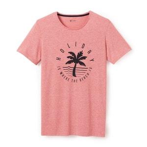 Printed Crew Neck T-Shirt R édition