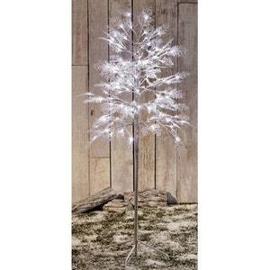 Arbre lumineux intérieur/extérieur 1,20m - 120 Led dont FLASH blanc glacier - Effet scintillant - Décoration de Noël ! NONAME