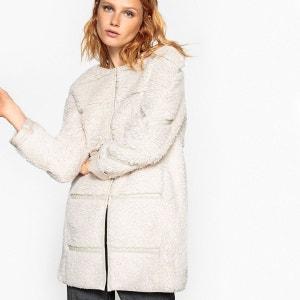 Manteau femme fausse fourrure La Redoute Collections