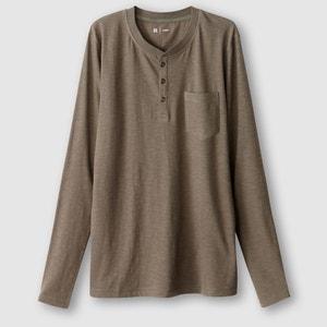 Langärmliges Shirt mit Henley-Ausschnitt R édition