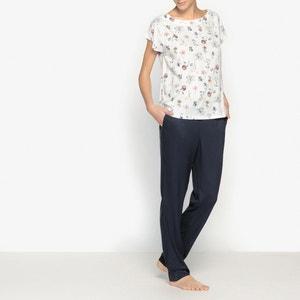 Piżama z kwiecistym nadrukiem La Redoute Collections