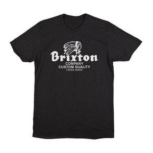T-shirt Brixton Tanka Premium Tee Noir BRIXTON
