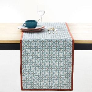 Chemin de table imprimé, Azilia, coloris bleu La Redoute Interieurs image