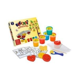 BABY-WALZ Le kit de peinture pour doigts Klecksi BABY-WALZ
