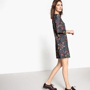 Платье-балахон трикотажное с рисунком La Redoute Collections