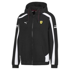 Motorsport Ferrari Zip Up Hoodie in Cotton Mix