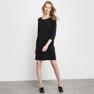 Fringed Sleeve Dress R studio