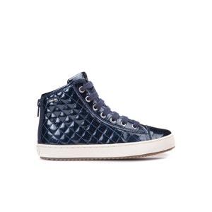 Zapatillas de caña alta de charol Kalispera GEOX