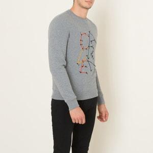 Sweatshirt, bestickt CARVEN