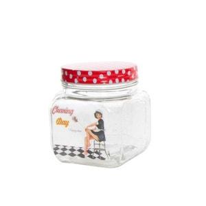 Pot en verre rétro - Petit Modèle 12 cm UNITED LABELS