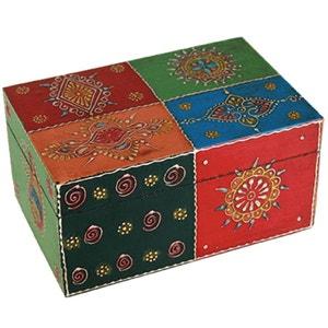 Deco indienne la redoute - Decoration boite en bois ...