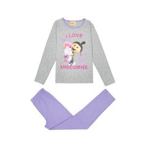 Girls' 2-Piece Pyjamas, 4-10 Years LES MINIONS