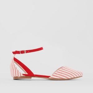 Striped Ballet Pumps La Redoute Collections