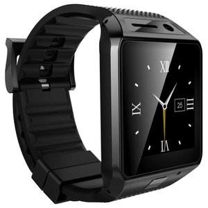 Smartwatch Bluetooth appareil photo montre téléphone connectée Noir Yonis