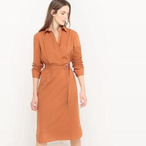Robe chemise, 100% coton atelier R