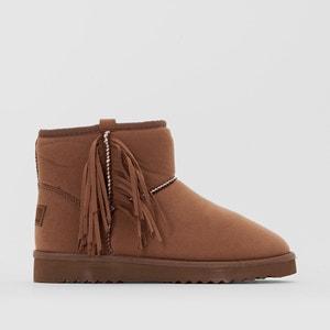 Uma Fringes Ankle Boots with Fringe Detail ESPRIT