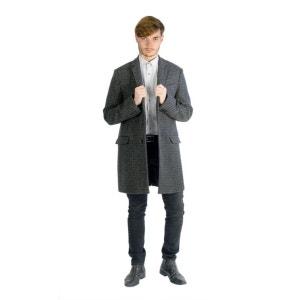 Manteau long classique à carreaux BILL TORNADE