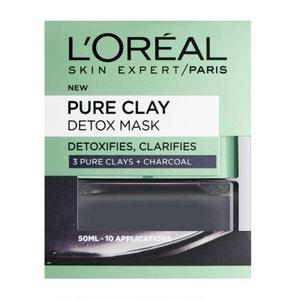 Masque Detox Argile Pure 50ml L'OREAL PARIS