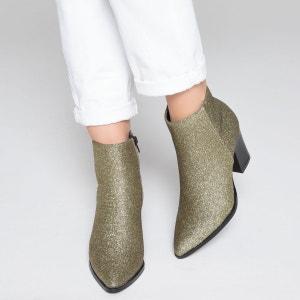 Boots paillettes La Redoute Collections
