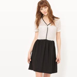 Effen korte jurk met korte mouwen VERO MODA