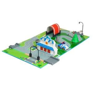 Aire de jeu 3D Robocar Poli : Quartier Général OUAPS