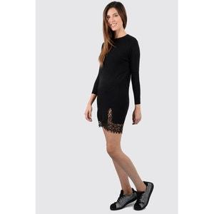 Vestido corto, mangas 3/4 MOLLY BRACKEN
