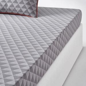 Issor Fitted Sheet in Grey La Redoute Interieurs