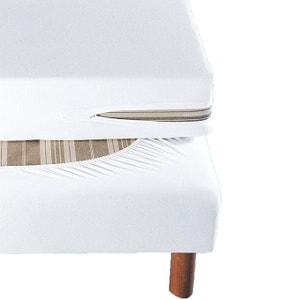 Pokrowiec na materac z fozciągliwego dżerseju, z powłoką antyroztoczową La Redoute Interieurs