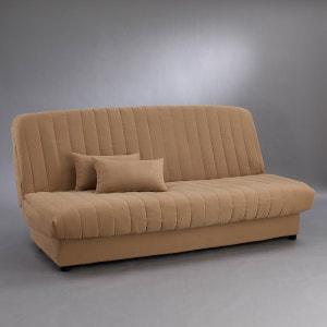 Capa para base de sofá modelo clic-clac, em imitação pelica La Redoute Interieurs