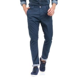 Pantalons Don en tissu bleu et jambe slim SALSA