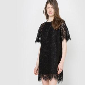 Lace Cape Party Dress MADEMOISELLE R