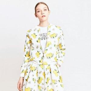 Lemon Print Jacket MIGLE+ME