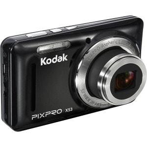 Appareil photo compact KODAK Pack X53 noir + Etui KODAK