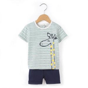 Ensemble T-shirt et short 1 mois-3 ans R Edition