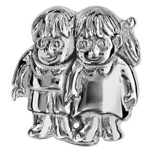 Charm Enfants Fille & Garçon Argent 925 - Compatible Pandora, Trollbeads, Chamilia, Biagi SO CHIC BIJOUX