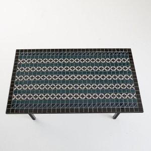 Tafel met artisaneel keramisch tafelblad voor 6 personen, Quérida La Redoute Interieurs