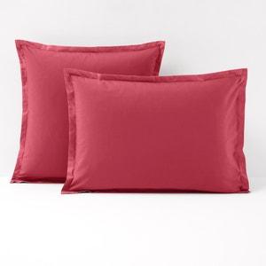 Poszewka na poduszkę z jednokolorowego perkalu La Redoute Interieurs