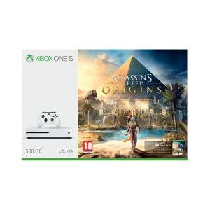 Xbox One S 500GB Blanche + Assassin's Creed Origins XBOX One MICROSOFT
