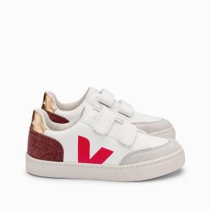 Zapatillas de piel V-12 VELCRO
