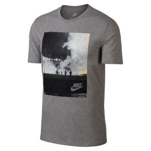Effen T-shirt met ronde hals en korte mouwen NIKE