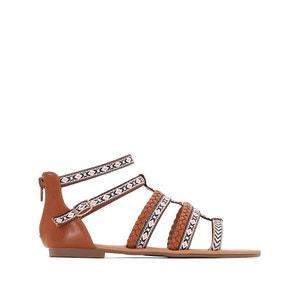 Platte sandalen 315721 BUFFALO