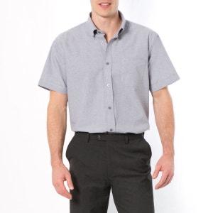 Cotton Mix Short-Sleeved Shirt CASTALUNA FOR MEN