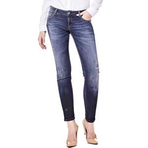 Jeans Skinny Taches De Peinture GUESS