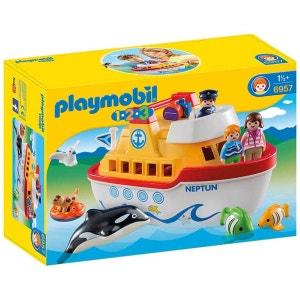 Playmobil 6957 : 1.2.3 : Navire transportable PLAYMOBIL