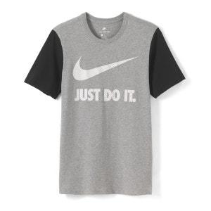 Tee-shirt col rond à motif imprimé devant NIKE