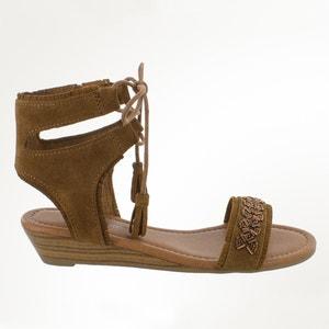 Sandalen met sleehak PORTOFINO MINNETONKA