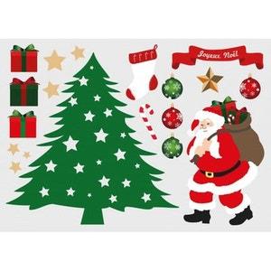Sticker Noël : Planche Déco sapin DECOLOOPIO