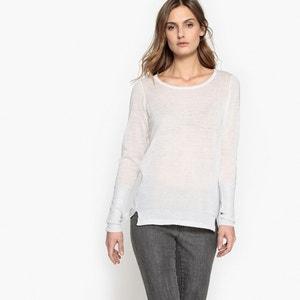 Fine-Knit Jumper/Sweater with Metallic Detail VILA