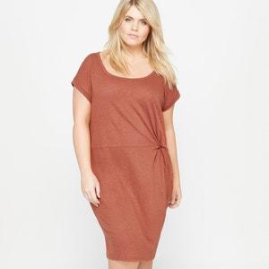 Kurzärmeliges Kleid, runder Ausschnitt CASTALUNA